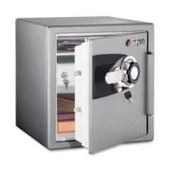 Sentry Safe OS3421: Combination Home Safe, 1.2 Ft3, 16-11/32w x 19-5/16d x 17-27/32h, Gunmetal Gray