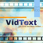 Cool Scroll Text Maker VidText