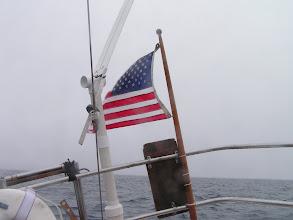 Photo: Дождь, автопилот и американский флаг/Rain, selfsteering and american flag...