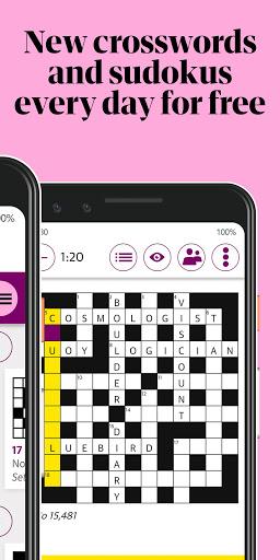 Guardian Puzzles & Crosswords screenshot 1