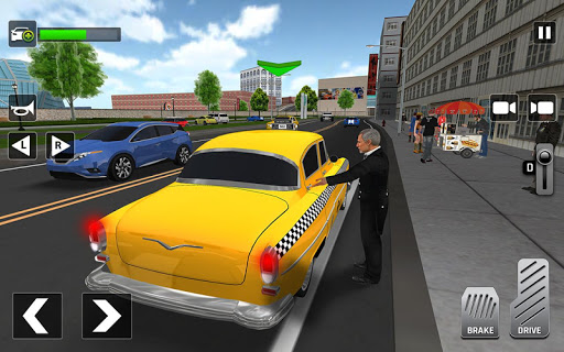City Taxi Driving: Fun 3D Car Driver Simulator screenshots 3