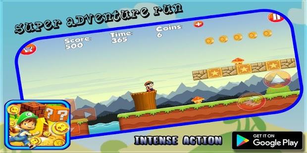 Super Adventure Run Boy - náhled