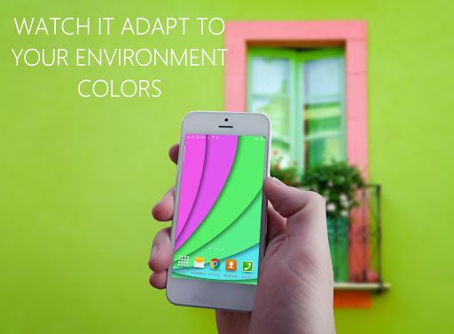 Chameleon Color Adapting LWP скачать на планшет Андроид