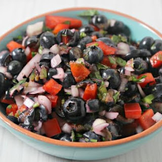 Blueberry Basil Salsa