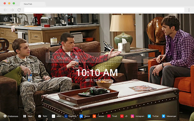 Two and a Half Men HD Wallpapers New Tab