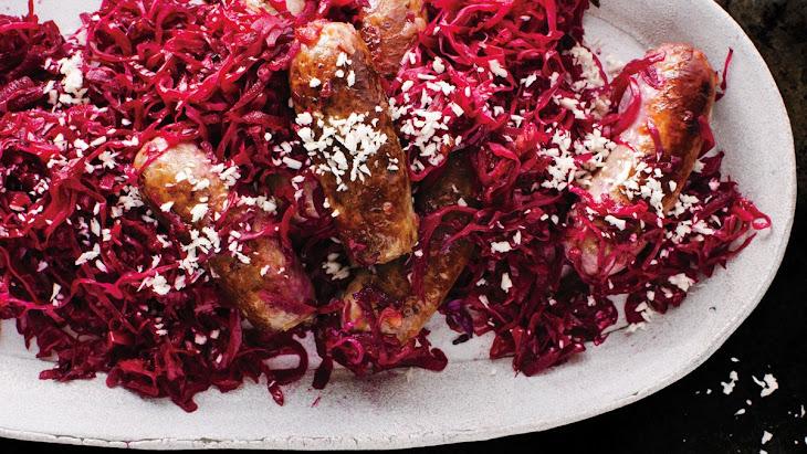 Bratwurst and Red Cabbage Recipe