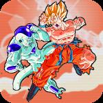 super z dragon saiyan goku battle