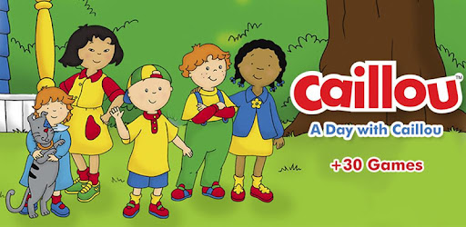 A Day with Caillou - by TapTapTales - Educational Games