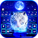 Neon Tiger 2 Keyboard Background icon