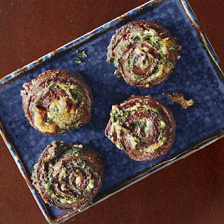 Grilled Skirt Steak Pinwheels