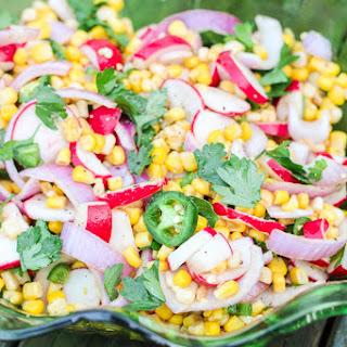 Spicy Chipotle Lime Radish Salad
