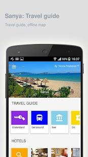Sanya: Offline travel guide - náhled