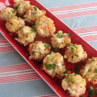 Baked Crab Popper Delights.