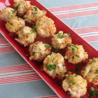 Baked Crab Popper Delights.
