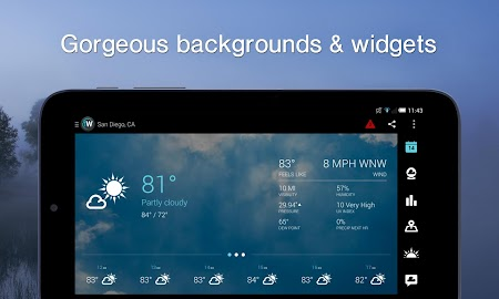 1Weather:Widget Forecast Radar Screenshot 8