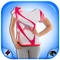 Woman Designed T-Shirt Maker icon