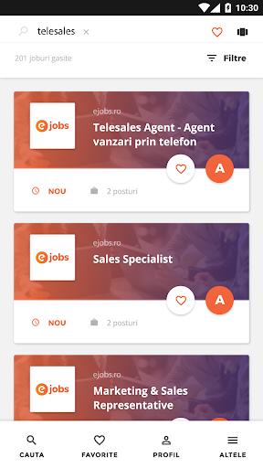 eJobs.ro - Locuri de muncu0103  screenshots 9