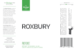 Artifact Cider: Roxbury