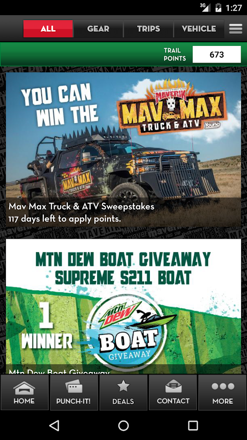 Maverik Rewards- screenshot