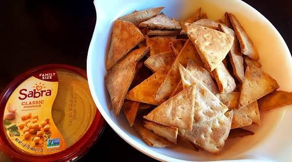 Whole Wheat, Baked Pita Chips Recipe