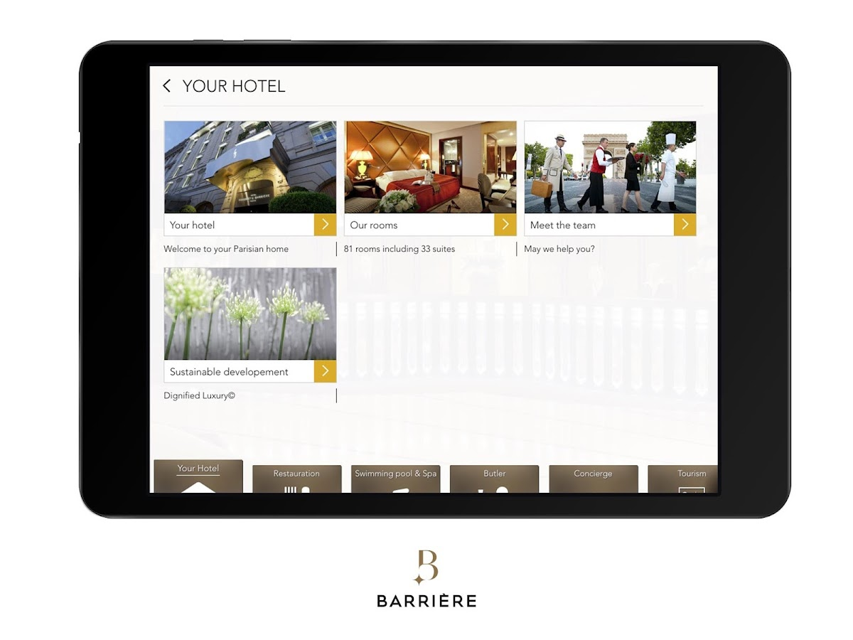 application casino barriere