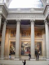 Photo: And massive paintings as well.