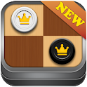 Checkers game : Draught , Dame board game icon