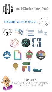 Distraction Free Icon Pack Screenshot