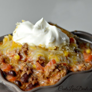 Easy Taco Chili in the CrockPot!