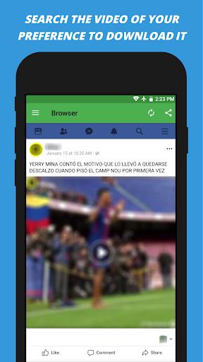 Video Downloader for facebook 2.2 screenshots 2