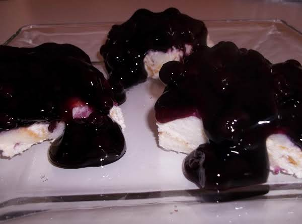 Blueberry Angel Food Cheesecake Recipe