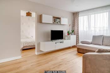 Appartement meublé 3 pièces 54,3 m2