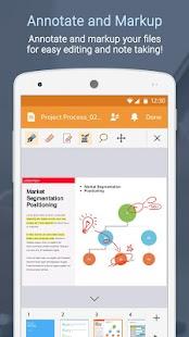 Polaris Office + PDF- screenshot thumbnail