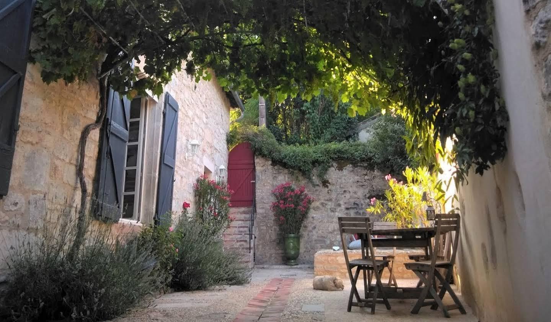 Maison avec piscine et terrasse Saint-Antonin-Noble-Val