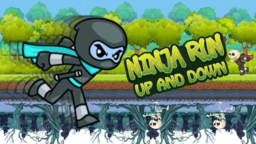 Ninja Run Up and Down apkmind screenshots 1