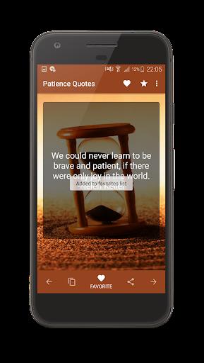 Patience Quotes screenshot 9