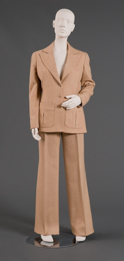 Woman's Pant Suit Back View