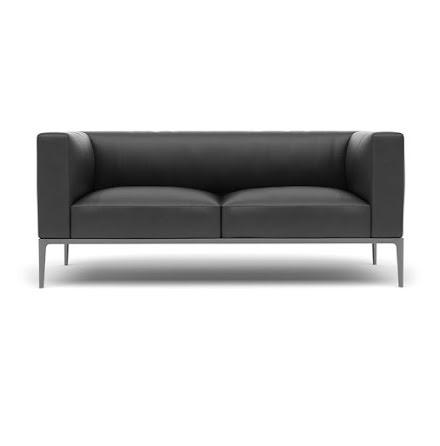 Svart soffa - slut i lager