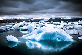 Photo: 'Jökulsárlón II'  Iceland 2013