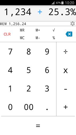 Calculator MD Light