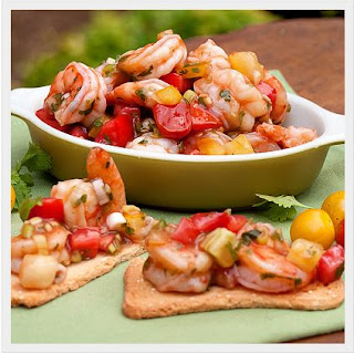 Shrimp and Tomato Salad Recipe