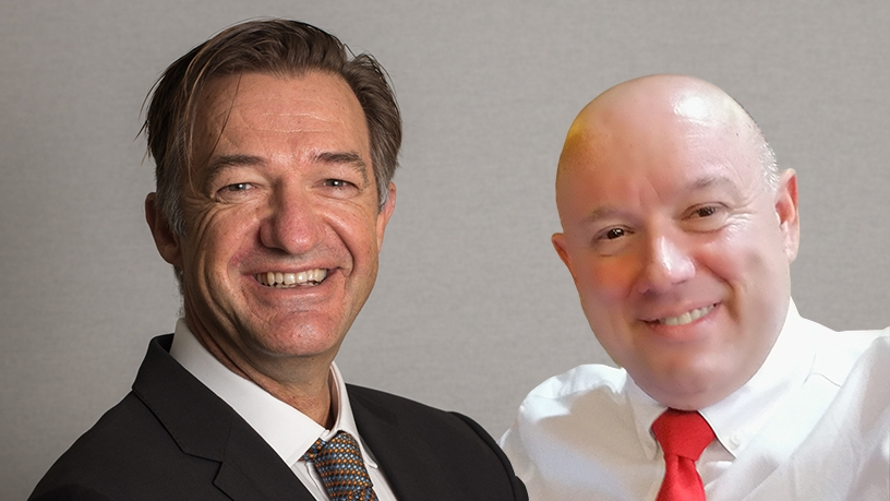 Logicalis SA's Caesar Tonkin (CISO) and Jakes Jakobsen (managing executive of sales and marketing).