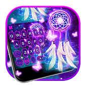 Galaxy Dream Catcher Keyboard Theme
