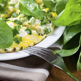 Spinach & Mozzarella Cheese Omelet