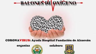 El Alcorcón apoya a los sanitarios durante la crisis.