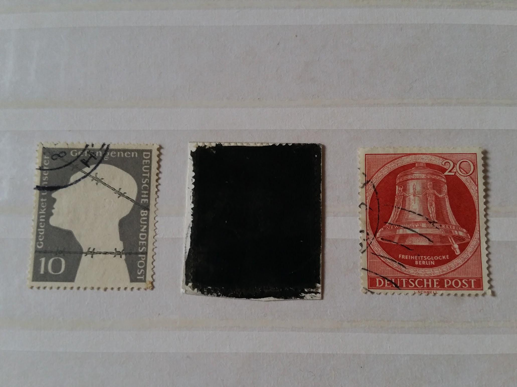 Kriegsgefangenen-Briefmarke BRD 1953
