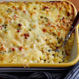 Mac and Cheese Carbonara.