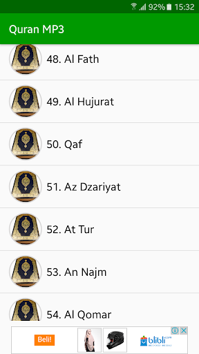 Quran MP3 Full Offline screenshot 3