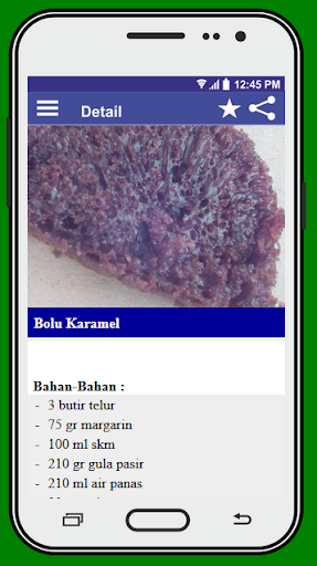 Resep Kue Basah screenshot