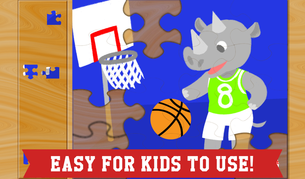 Best Sports Puzzles for Kids- screenshot